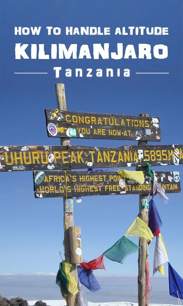 MOUNT KILIMANJARO HEIGHT – Facts and tips for dealing with altitude - Tanzania