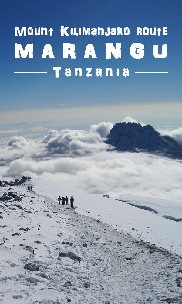 Mountain climbs - Mount Kilimanjaro - Marangu route - highest mountain in Africa - Tanzania