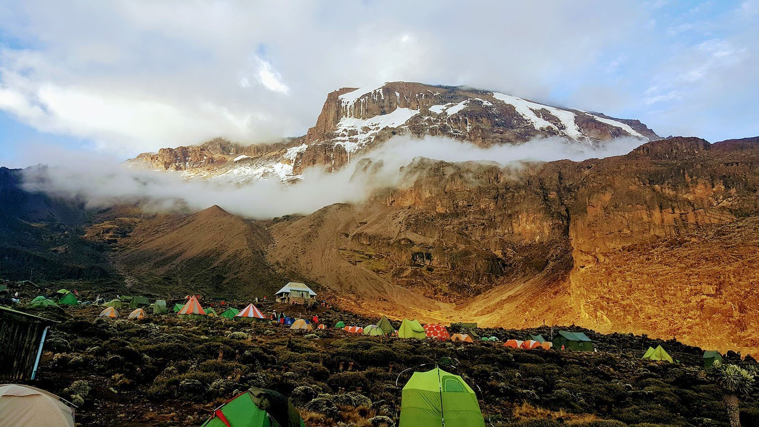 Mountain climbs - Mount Kilimanjaro, Tanzania, trekking - Machame route