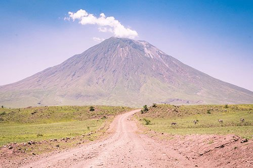 Wildlife safari and mountain climb - Lake Natron and Ol Doinyo Lengai, Tanzania - flamingo